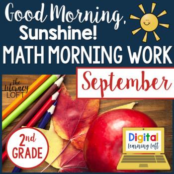 Morning Work 2nd Grade {September}
