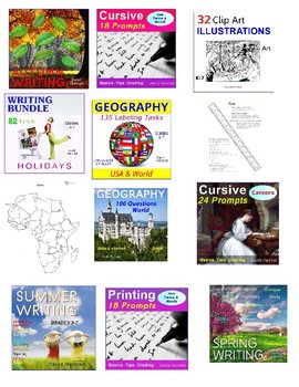 Morning Work Bundle | 532 Assignments (Gr. 3-7)