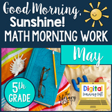 Morning Work 5th Grade {May}