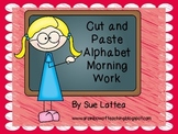 Morning Work - Alphabet