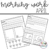 Morning Work: April