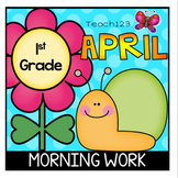 Morning Message Spring April First Grade