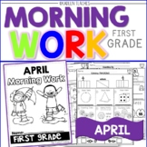Morning Work -April 2
