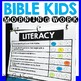 Morning Work-Bible Kids Edition August
