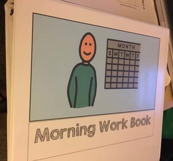 Morning Work Binder