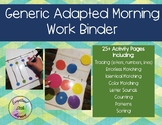 Morning Work Binder Bundle Pack