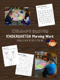 Morning Work Binder - Kindergarten