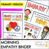SEL Empathy Morning Binder