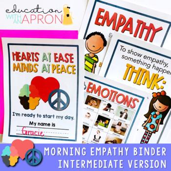Morning Work Binder for Empathy