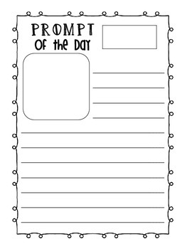 Morning Work Pack {An interactive journal for young learners}
