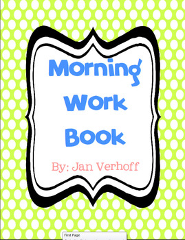Morning Work Book Premium