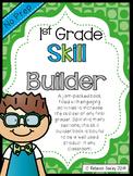 Morning Work Book/ Skill Builders- 1st Grade Common Core