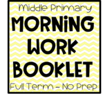 Morning Work Booklet Pack - NO PREP - Term 3
