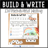 Build and Write Differentiated Phonics Workbook and Printables