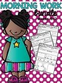 Morning Work Bundle Week 9-12
