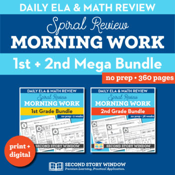Morning Work Bundle Grades 1-2