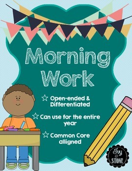 Morning Work {Calendar Math Warm-up}