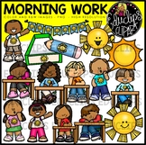 Morning Work Clip Art Bundle {Educlips Clipart}