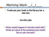 Morning Work Creative Writing Powerpoint