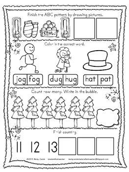 original 1014828 4 - Morning Work For Kindergarten