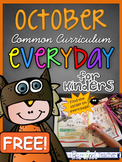 FREE Kindergarten Morning Work {October}