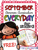 Back to School - FREE Kindergarten Morning Work {September}