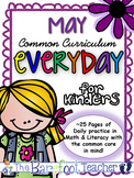End of the Year Activities - Kindergarten Morning Work {May}