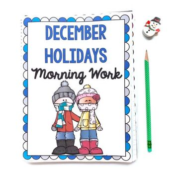 Morning Work: December Holidays