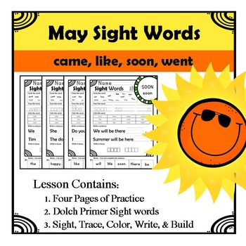 Morning Work Sight Words