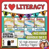 English Language Arts Review | ELA Spiral Review | Morning Work | with Digital