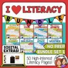 Morning Work - ELA and Reading Skills Review