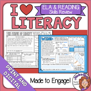 Morning Work - ELA and Reading Skills Review