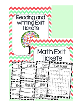 Morning Work / Exit Tickets