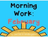 Morning Work: February