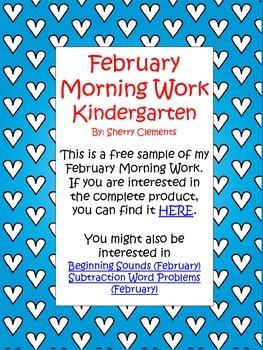 Morning Work - Free Sample