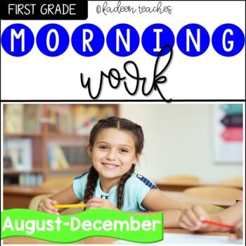 Morning Work First Grade-Aug-December