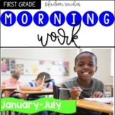 Morning Work First Grade-January -June