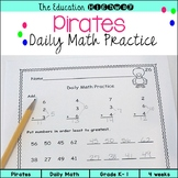 Pirates Morning Math
