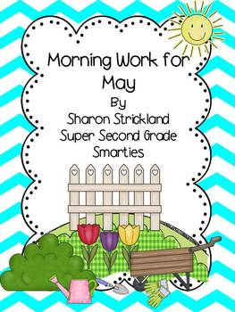 Second Grade Morning Work For May