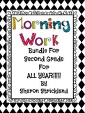 Morning Work For Second Grade for ALL YEAR! August-May