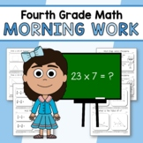 Morning Work Fourth Grade Math Common Core