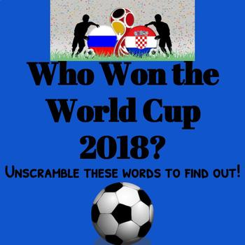 Morning Work: France Wins the World Cup Against Croatia! 2018