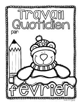 French Daily Work ~ février