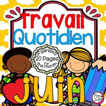 French Daily Work ~ juin