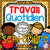 French Daily Work • septembre
