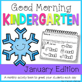 Kindergarten Morning Work {JANUARY}