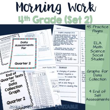 Morning Work - Grade 4 - Quarter 3