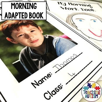 Autism Morning Work Book