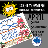 Morning Work - Interactive Notebook April (15 days)