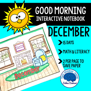 Morning Work - Interactive Notebook December (15 days)
